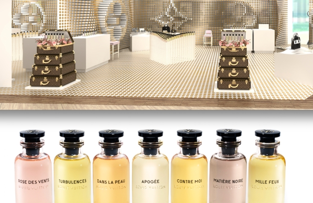 Louis Vuitton is bringing its fragrance concept, Les Parfums Louis Vuitton Pop-up, to the U.S. this week.