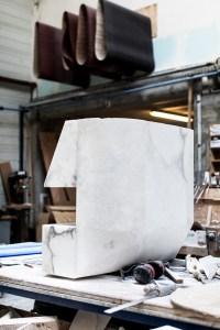 Rick Ownes furniture behind the scenes