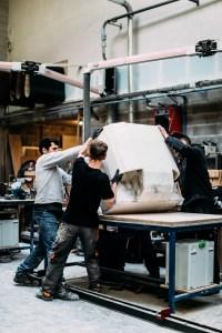 Rick Owen furniture behind the scenes