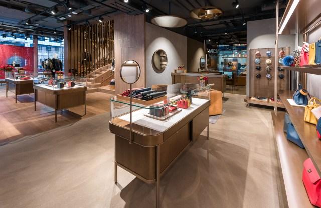 MCM's new London flagship Conduit Street