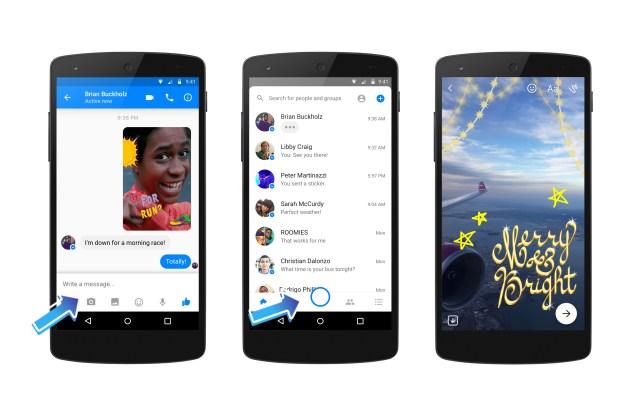 Facebook Messenger Camera