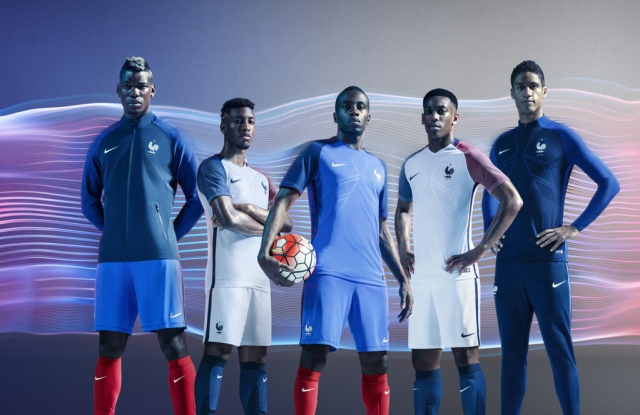 Nike and the French soccer federation partnership