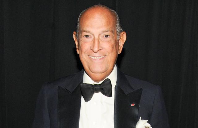 Oscar de la Renta at the 2013 CFDA Awards.
