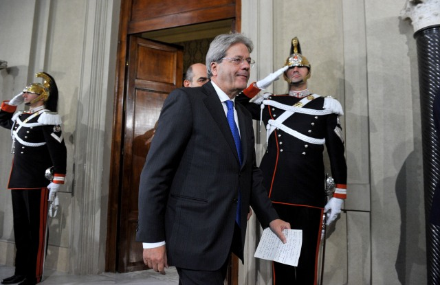 paolo gentiloni italy prime minister