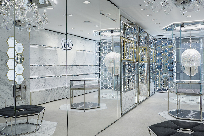 Philipp Plein's new store on New Bond Street