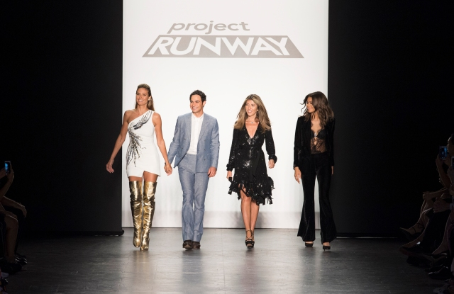 Project Runway Intel virtual reality