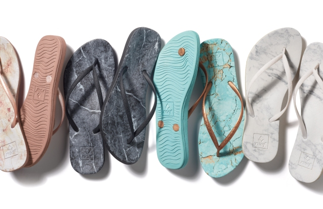The Reef Escape marble print collection.