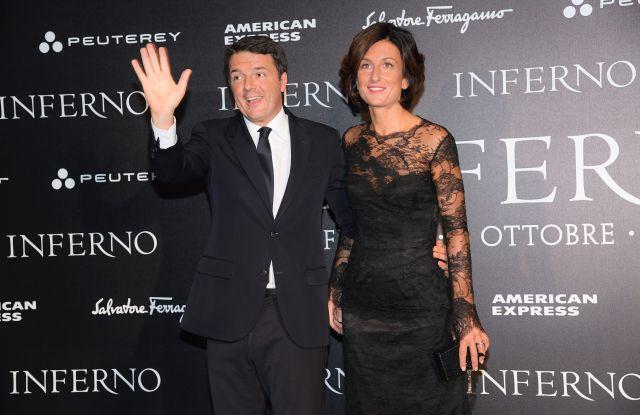 Matteo Renzi and wife Agnese