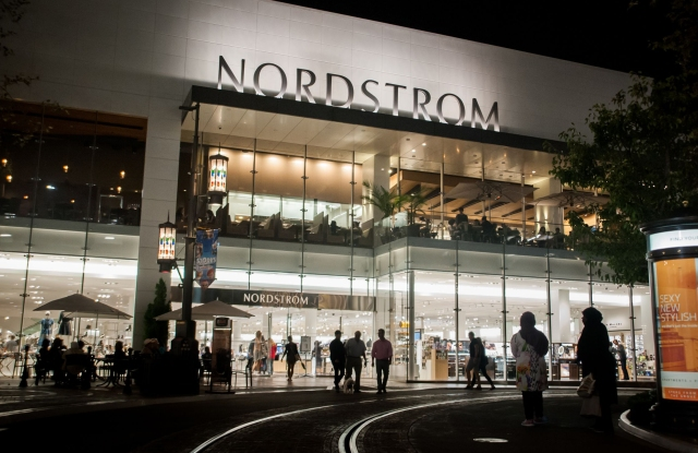 Nordstrom's total company digital sales grew 4 percent and represented 30 percent of the business.