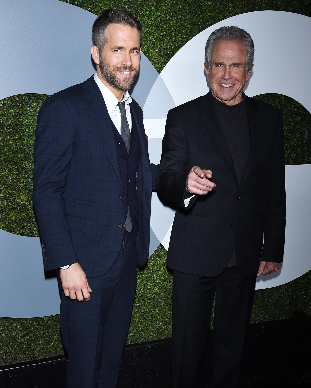 Ryan Reynolds and Warren Beatty GQ Men of the Year 2016 Arrivals
