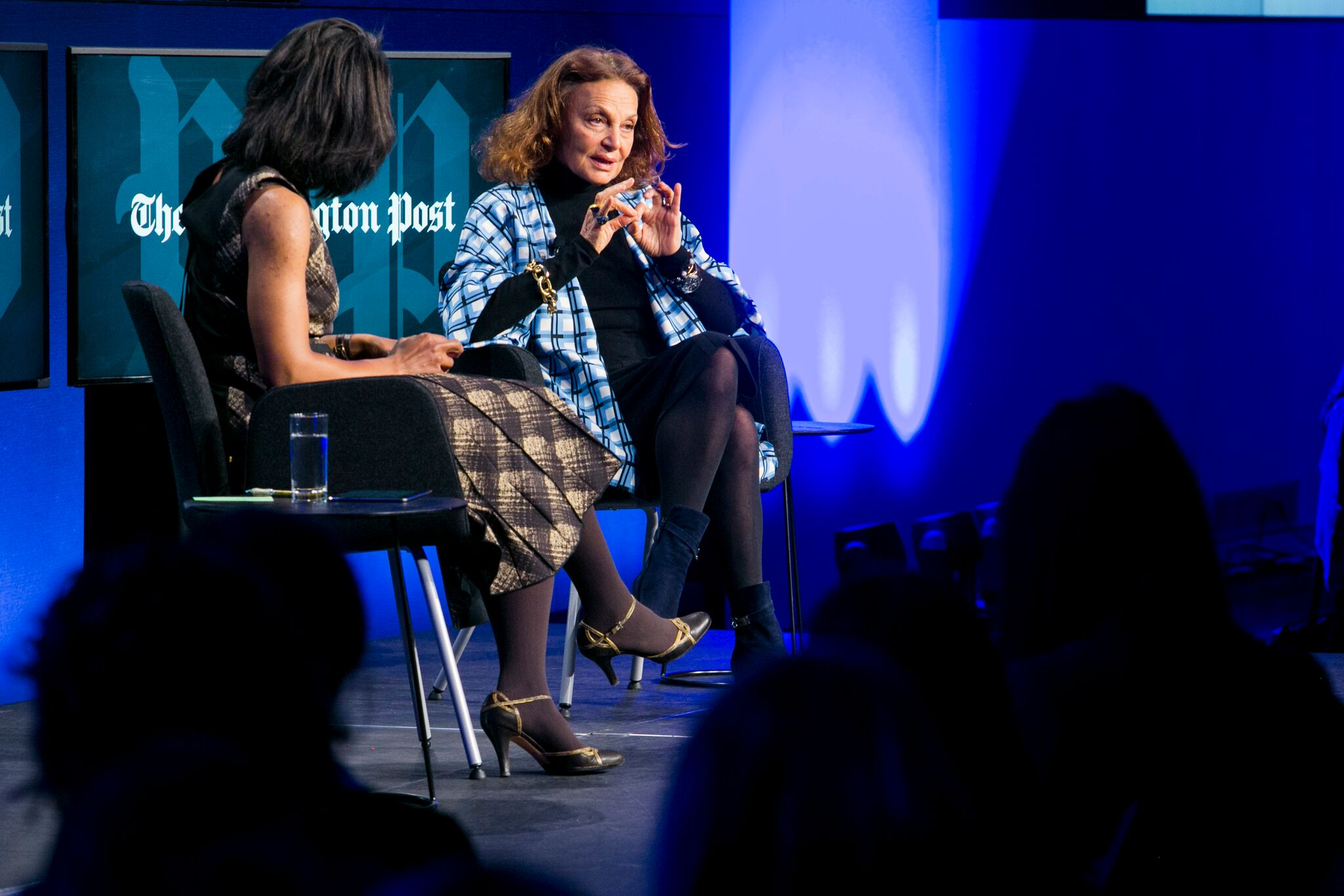 Washington Post's Robin Givhan hosts talk with Diane Von Furstenberg.