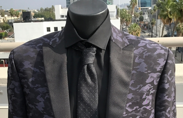 "A choice for Ryan Seacrest's ""birthday suit."""