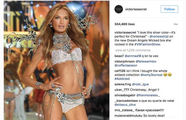 Victoria's Secret's Instagram