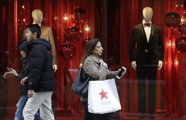 Retailers are hoping colder weather and the approach of the holiday will help boost sales.