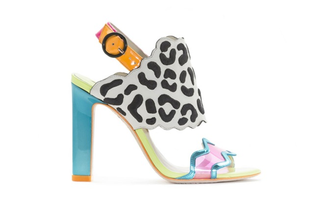 An archival shoe style to be offered on Sophia Webster's discounted web site, The Vault.