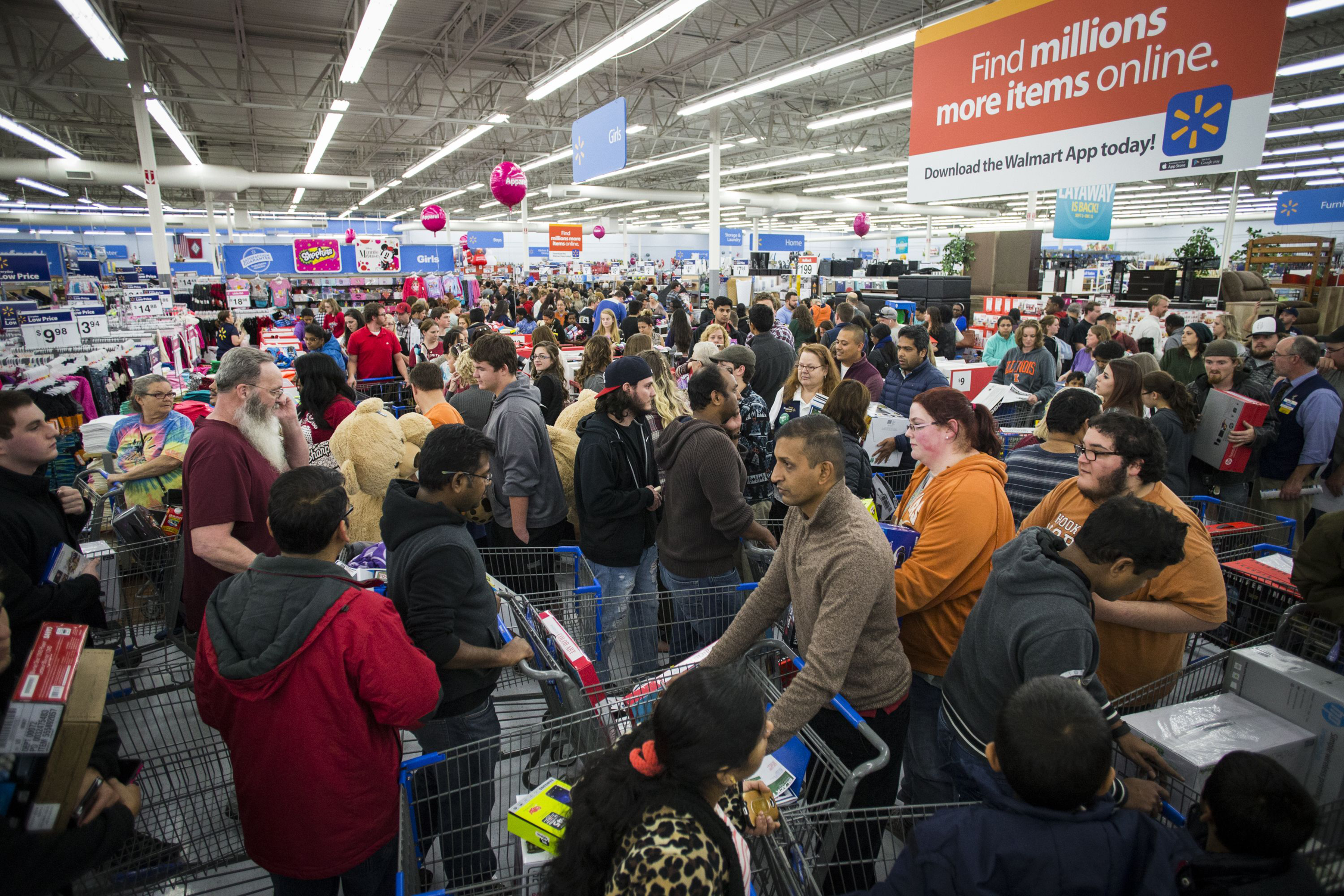 The biggest volume day of the year for retailers is the last Saturday before Christmas.