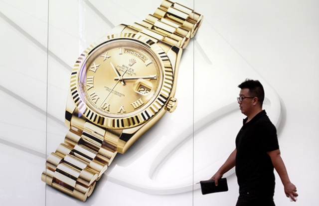 Swiss watch exports rise