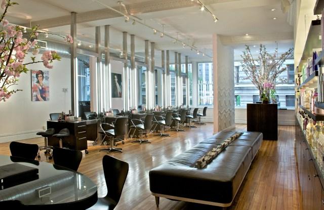 Ted Gibson salon.
