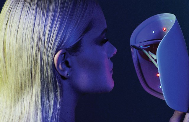 Neutrogena's Light Therapy Acne Mask was the first to combine blue and red visible light.