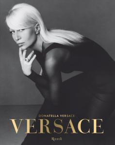 """""""Versace"""" book's front cover"""