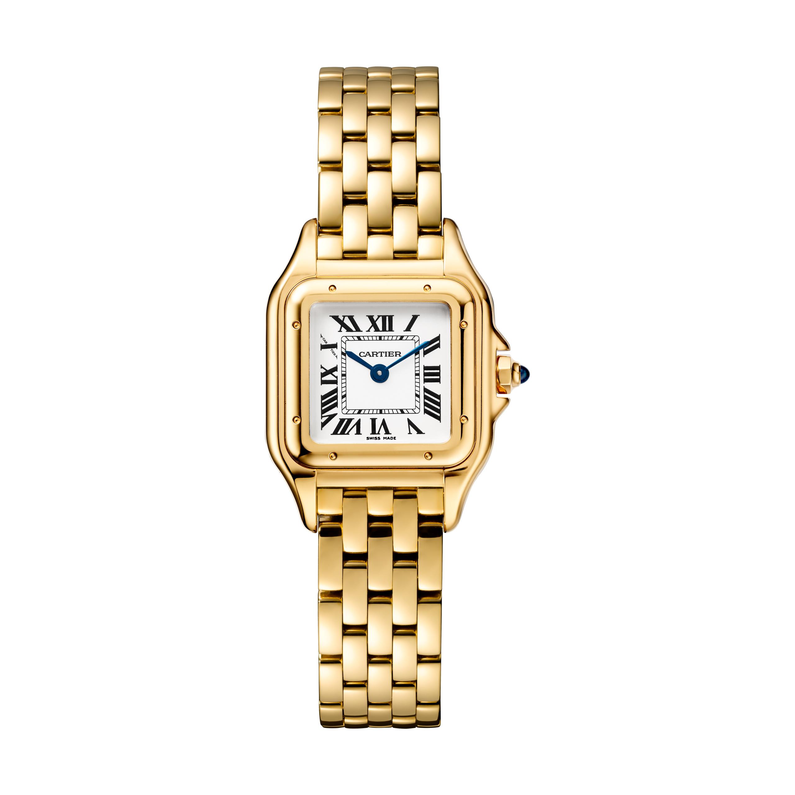 The Panthère de Cartier watch.