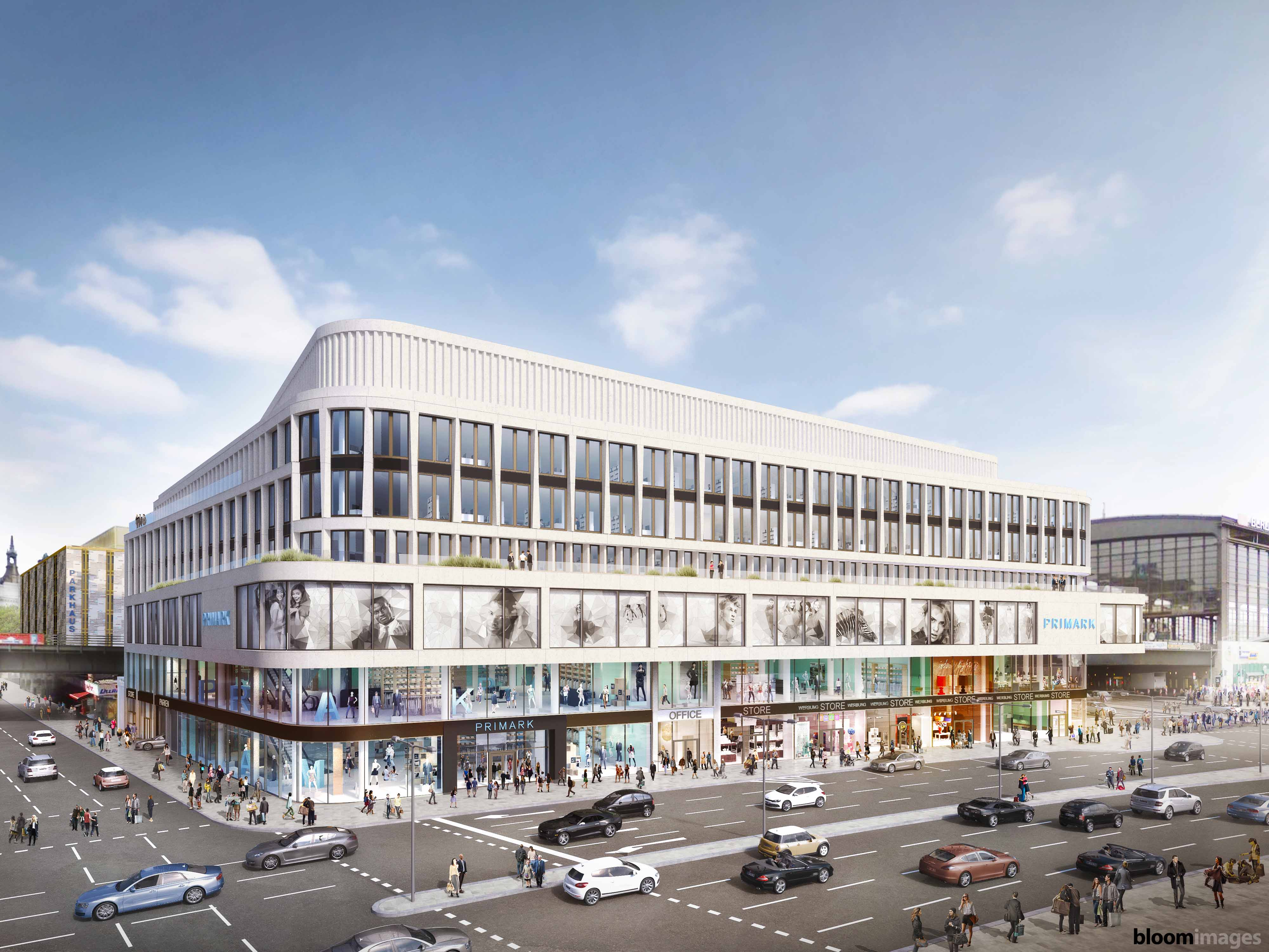 A rendering of the Zoom mixed-use project that Primark will anchor.