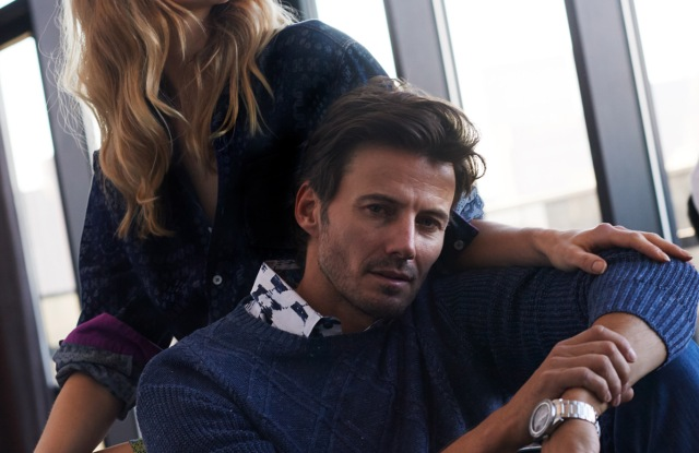 An image from Robert Graham's spring ad campaign.