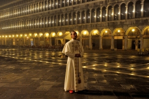 """A still from """"The Young Pope"""""""