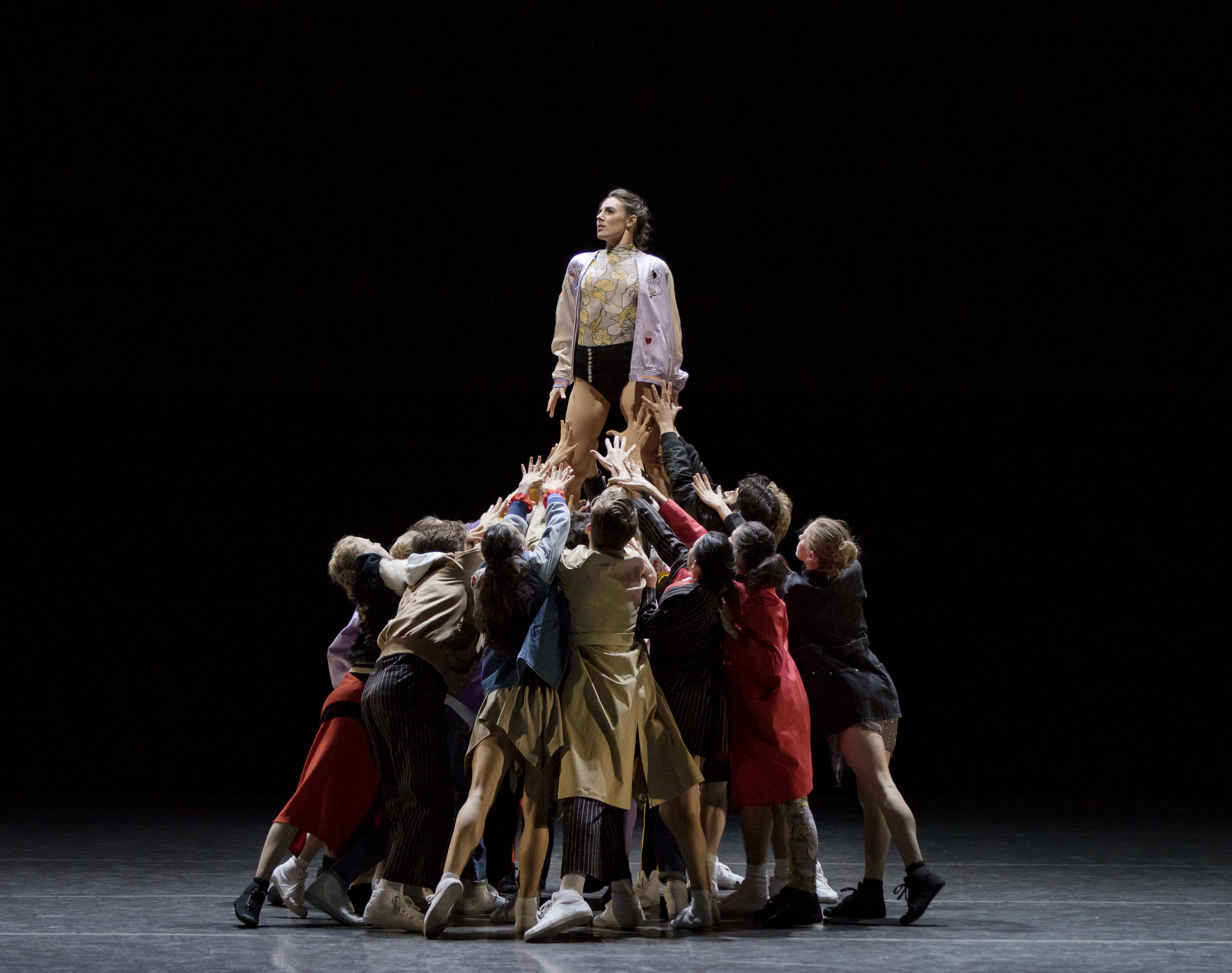 """Opening Ceremony x Justin Peck's New York City Ballet performance of """"The Times Are Racing."""""""