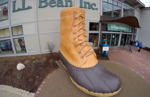 LL Bean, Freeport, USA