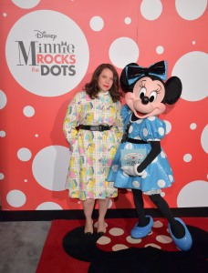 Olympia Le Tan Minnie Mouse Gray Malin Rock the Dots