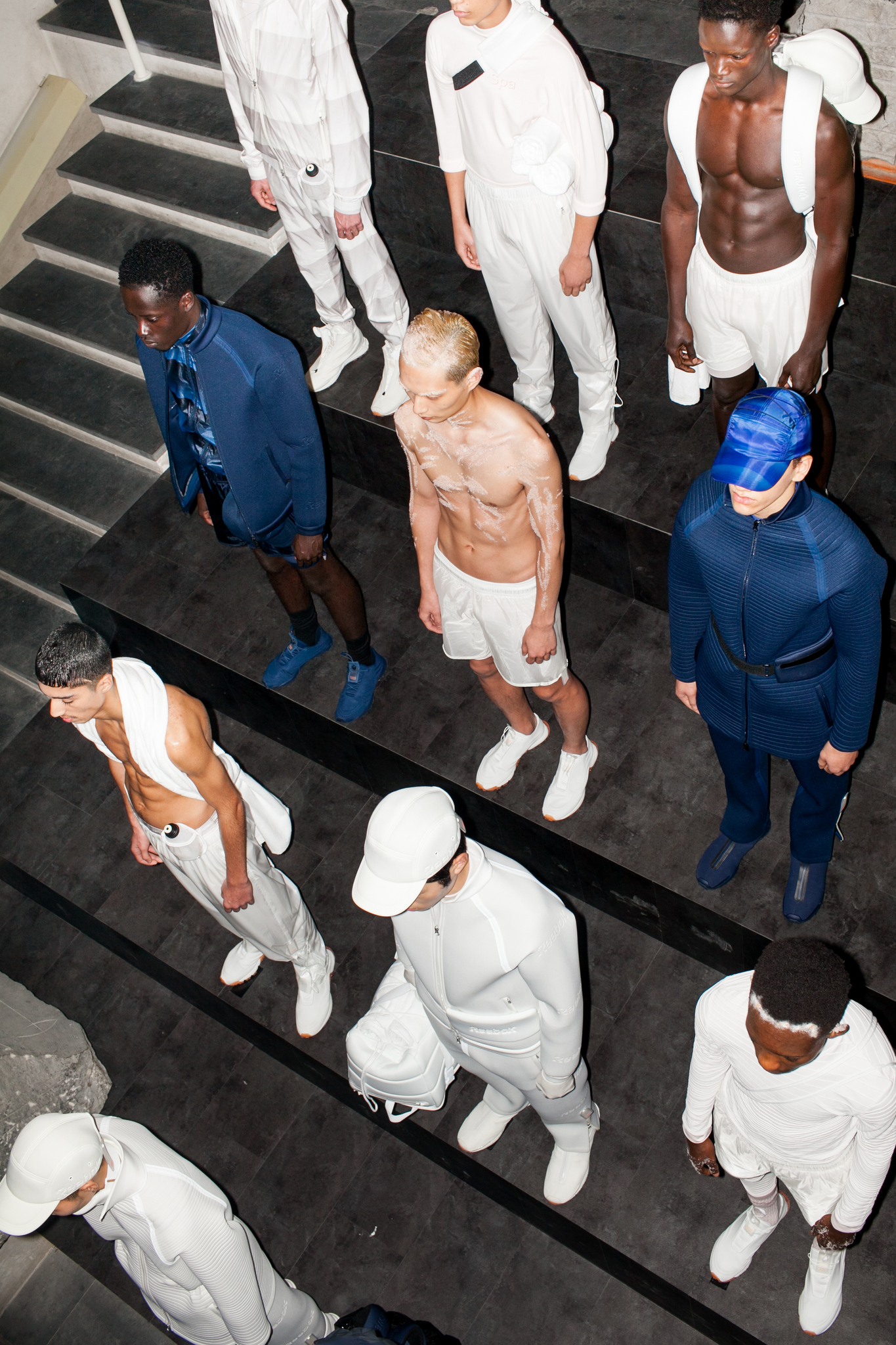 Backstage at Cottweiler Men's Fall 2017