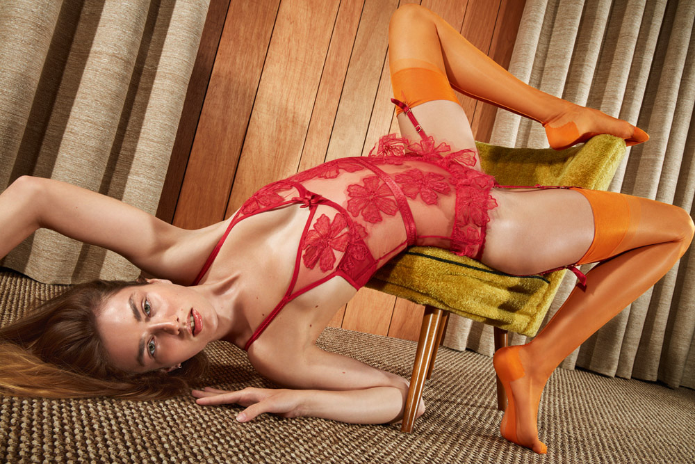 A visual of the Agent Provocateur spring 2017 ad campaign