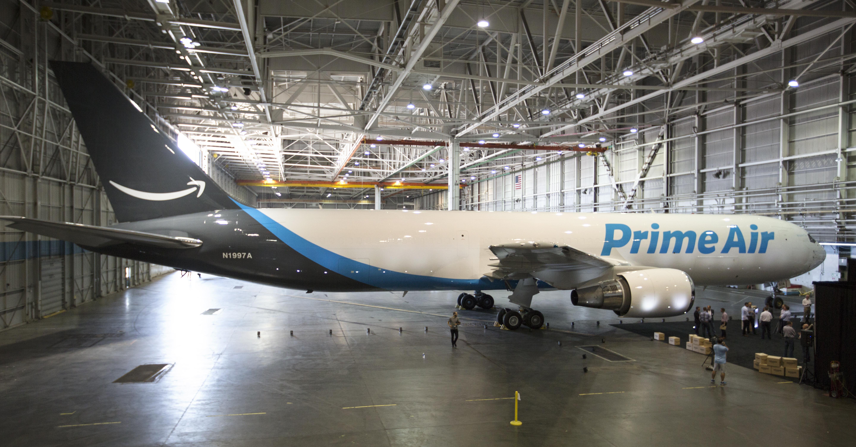 Amazon One cargo plane