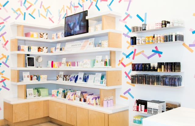 Birchbox's New York store.