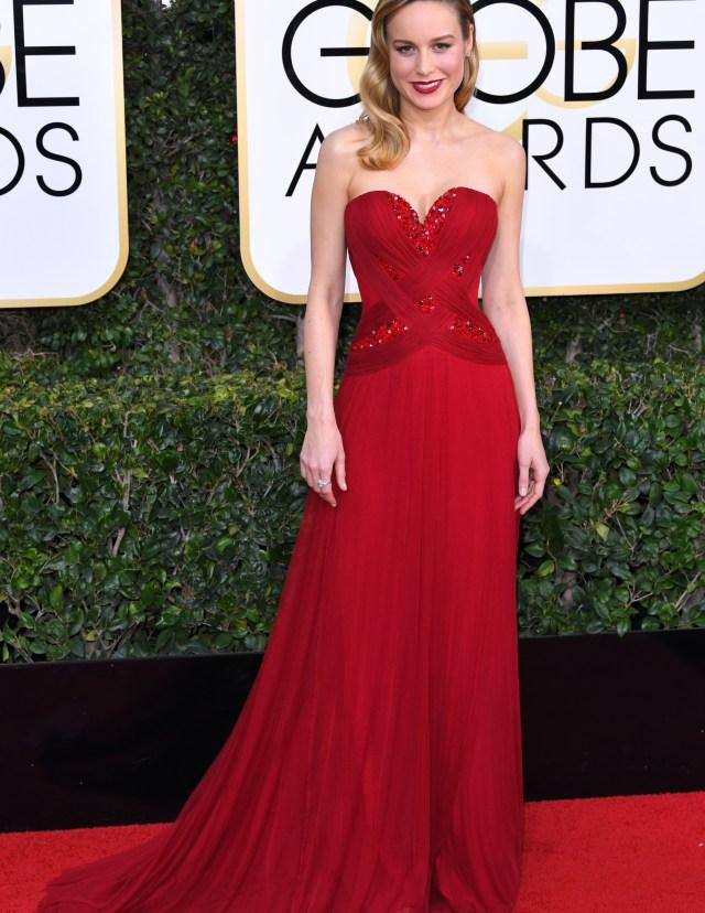 Golden Globes 2017: Brie Larson in Rodarte