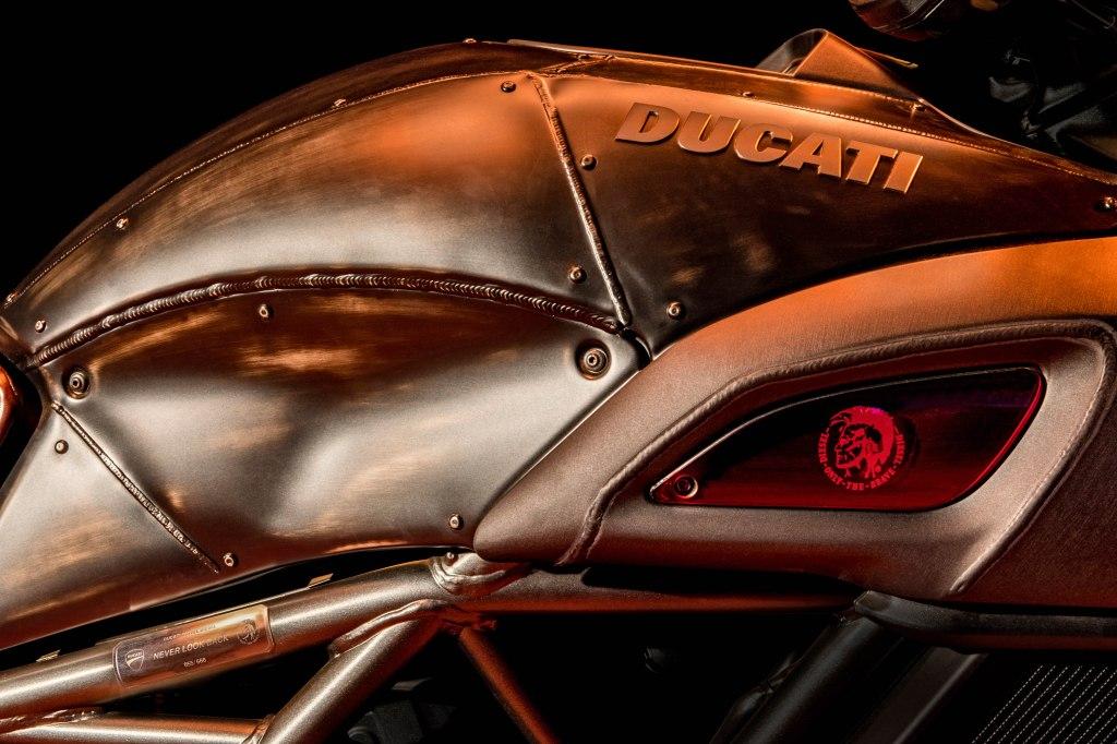Details of the new Ducati Diavel Diesel.