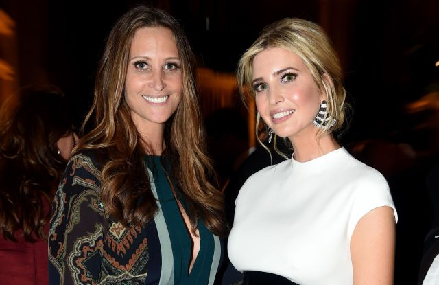 Stephanie Winston Wolkoff and Ivanka Trump