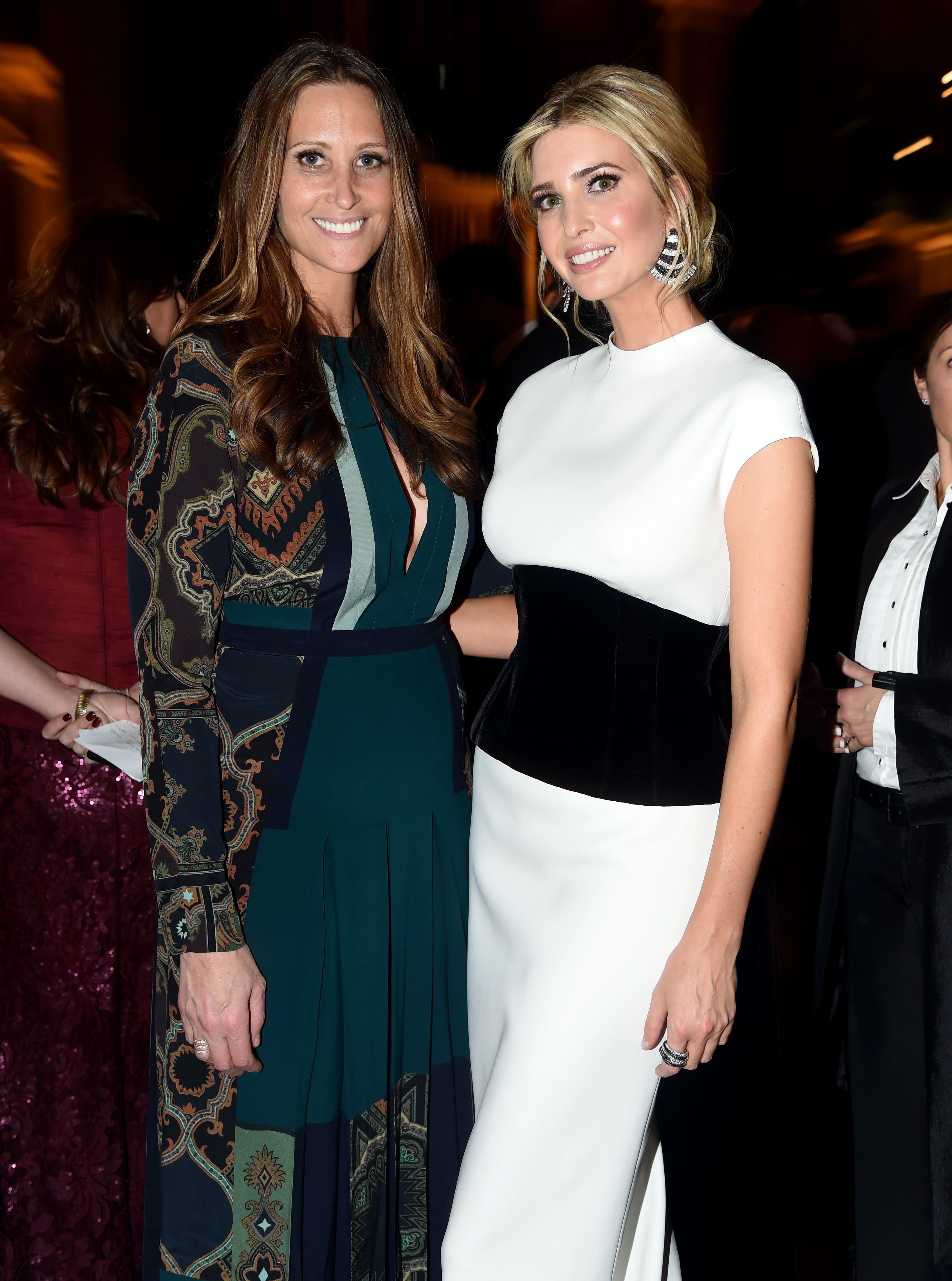 Stephanie Winston Wolkoff and Ivanka Trump