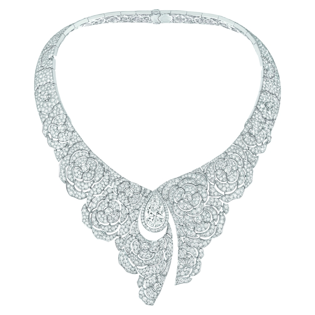 """Chanel Joaillerie's """"Gabrielle Chanel"""" necklace."""
