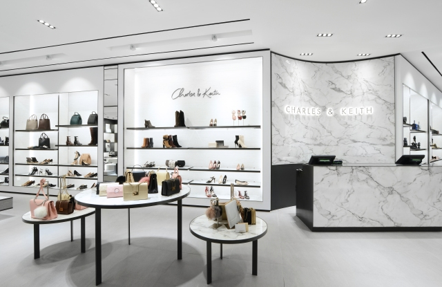 A Charles & Keith store.