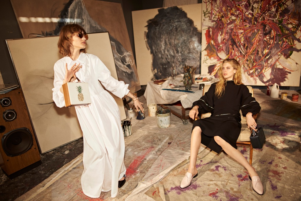 Charles & Keith SS17 campaign.