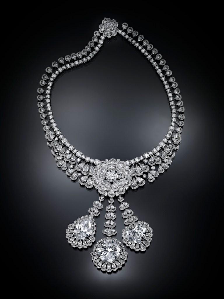 """Chopard's """"The Garden of Kalahari"""" necklace."""