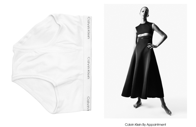 Calvin Klein By Appointment, a 14-look made-to-order collection by Raf Simons.