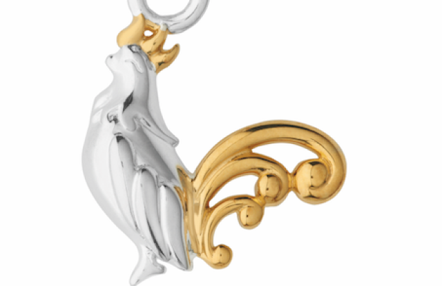 Links of London's rooster charm.