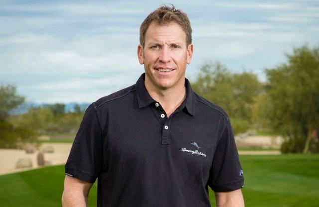 Golfer Ricky Barnes will wear Tommy Bahama's IslandZone line.