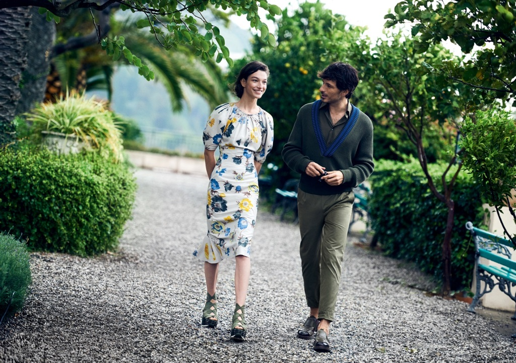 An image from the Salvatore Ferragamo Spring/Summer 2017 campaign