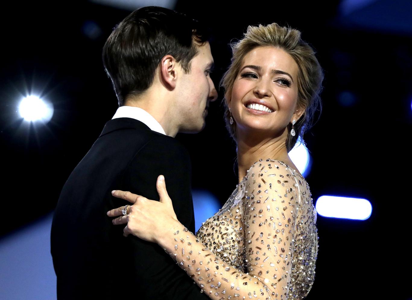 Inaugural Ball Fashion Gallery Ivanka Trump husband Jared Kushner