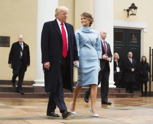 Trump Inauguration Gallery Donald Trump and Melania Trump