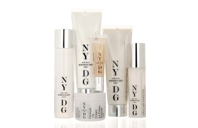The NYDG skin-care collection.